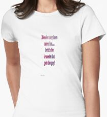 Blondes may have more fun....but it's the brunette that gets the guy! T-Shirt