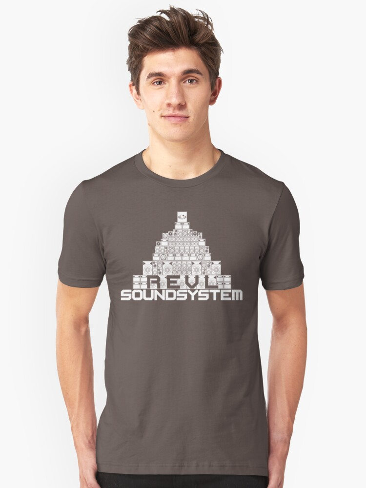 Pyramid of Sound(System) Unisex T-Shirt Front