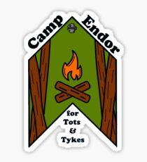 Camp Endor Sticker