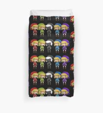 Legend of Zelda - Kawaii Chibi Links Duvet Cover