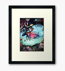 Heart's Witch Framed Print