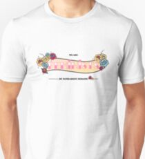 Feminist by patriarchy demand  Unisex T-Shirt