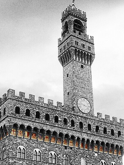 Palazzo Vecchio coat of arms by Kat Meezan