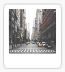 NYC Polaroid Sticker