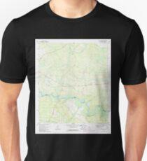 USGS TOPO Map Florida FL Kings Ferry 346937 1970 24000 T-Shirt