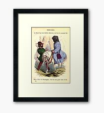 A Treasury of pleasure books for young people 1856 164 Robin Hood Framed Print