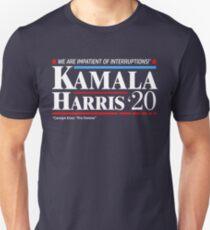 Kamala Harris 2020: Impatient of Interruptions T-Shirt
