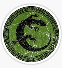 Ender's Game Salamander Army  Sticker