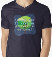 Optimistic  Men's V-Neck T-Shirt