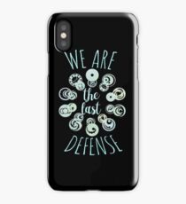 last defense v2 iPhone Case/Skin
