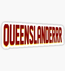 Queenslander Sticker