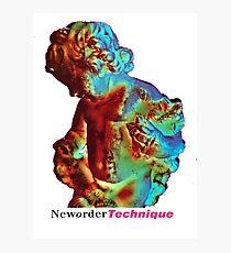 Joy division New Order Technique tour shirt Photographic Print