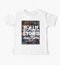 colorful hip hop grunge your story matters graffiti  Kids Clothes