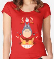 My Trippy Neighbor Women's Fitted Scoop T-Shirt