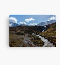 Spring Waterfall on Skye Canvas Print