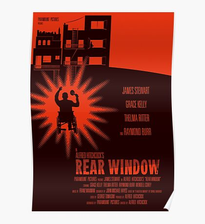 Alfred Hitchcock's Rear Window Poster