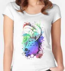Trippy Neighbor Women's Fitted Scoop T-Shirt