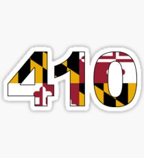 Maryland 410 Sticker