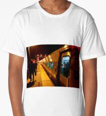 Traveling Train Long T-Shirt