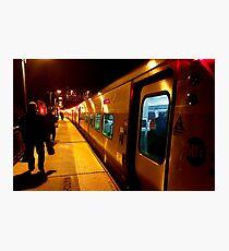 Traveling Train Photographic Print