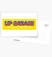 UP Garage Postcards