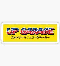 UP Garage Sticker