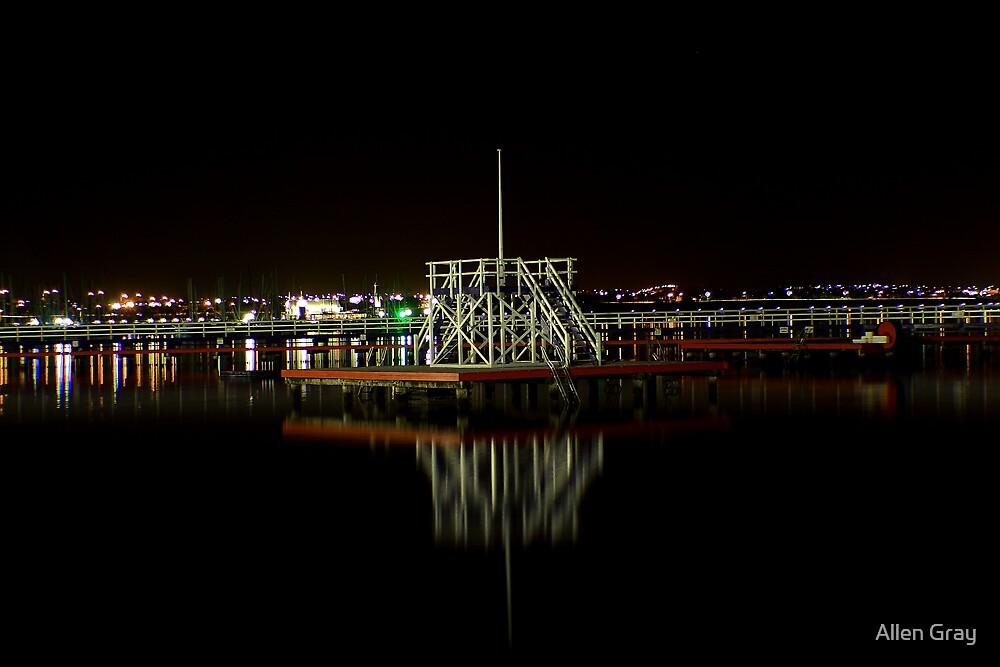 Promenade at Night by Allen Gray