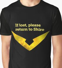 If Lost Please Return To Shiro - Hunk Graphic T-Shirt