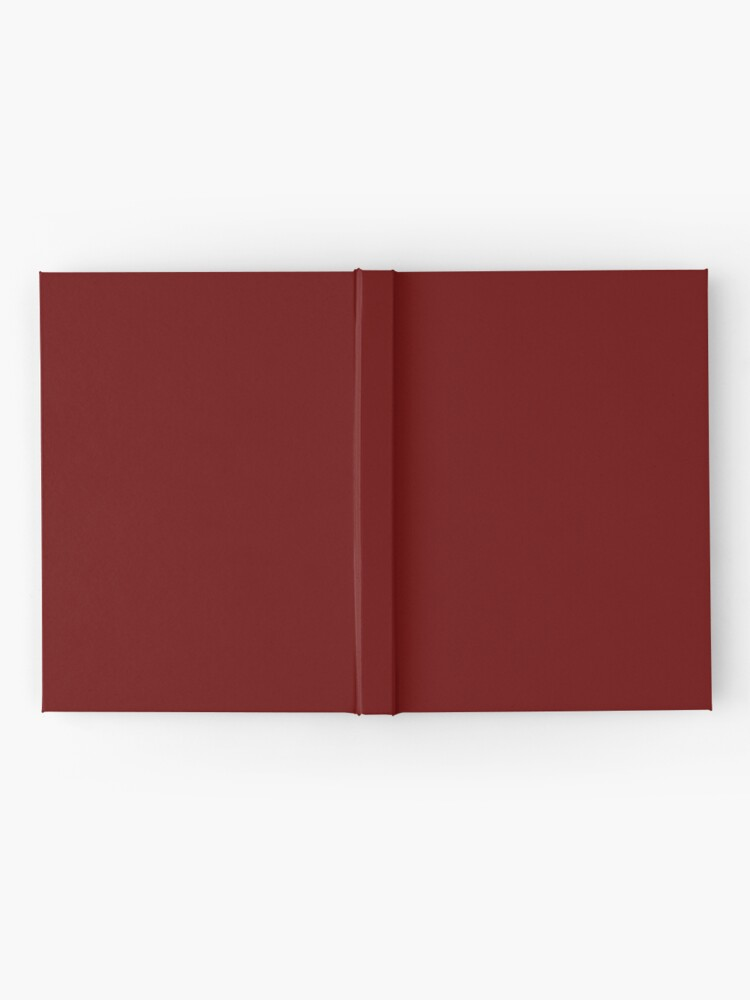 Alternate view of Burgundy Red Solid Color Decor Hardcover Journal