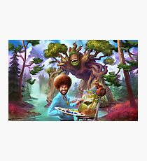 Bob Ross Photographic Print