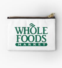 Whole Foods Market Zipper Pouch