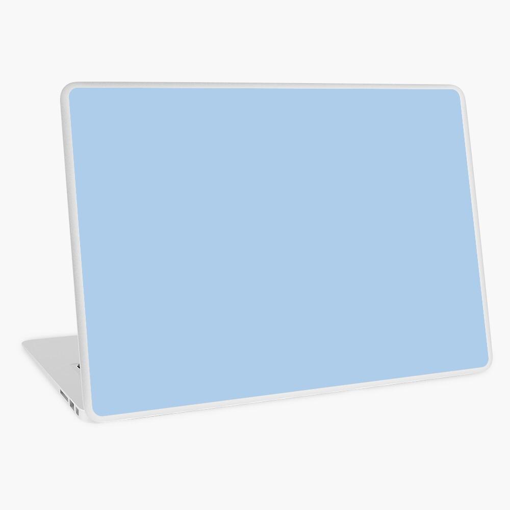 Baby blau einfarbig Dekor Laptop Folie