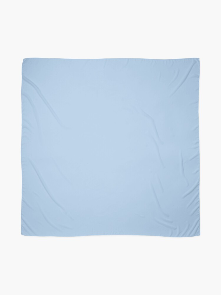 Alternate view of Baby Blue Solid Color Decor Scarf