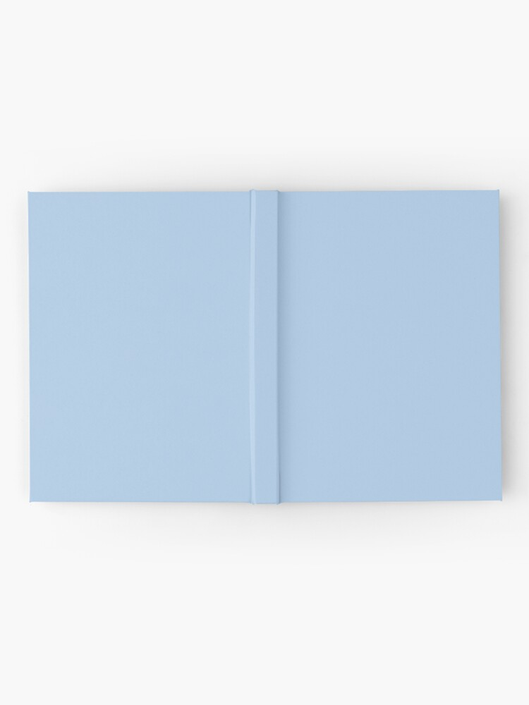Alternate view of Baby Blue Solid Color Decor Hardcover Journal
