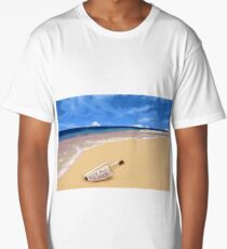 Message In The Bottle Long T-Shirt