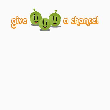 Give Peas a Chance! by CornerOfMyMind