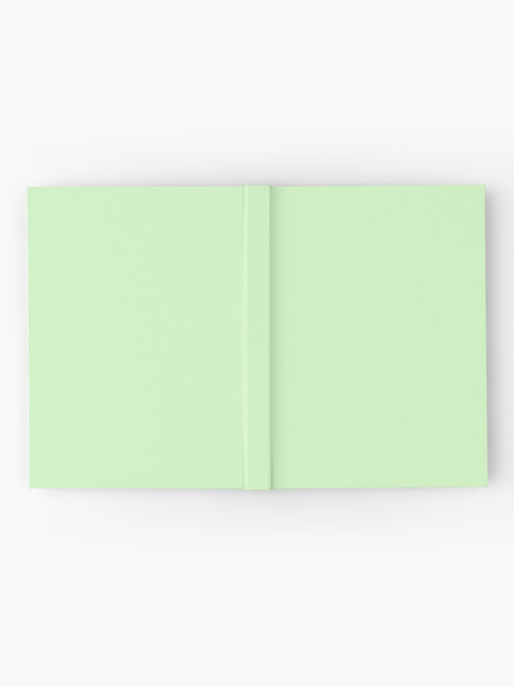 Alternate view of Mint Green Solid Color Decor Hardcover Journal