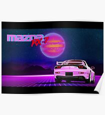 Mazda FD RX7 Poster