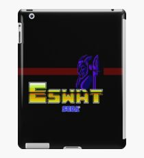 ESWAT - CLASSIC MASTER SYSTEM  iPad Case/Skin