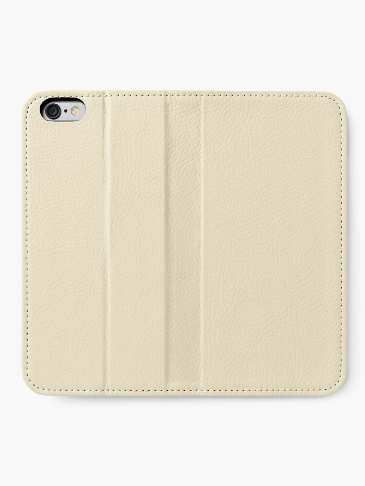 Alternative Ansicht von Builder's Beige Volltonfarbe Dekor iPhone Flip-Case