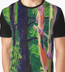 Trees in the Woods Graphic T-Shirt