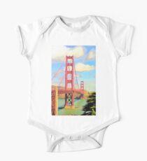 Golden Gate Bridge at 50 One Piece - Short Sleeve