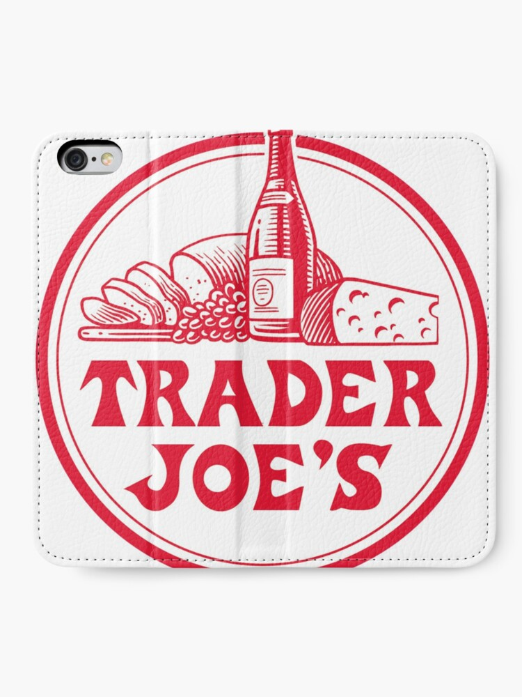 Alternate view of Trader Joe's Grocery Store iPhone Wallet