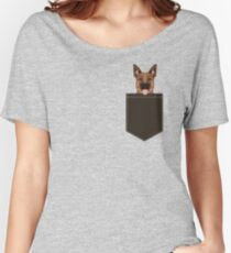 Skylar - German Shepherd gift ideas for dog person and dog people gifts Women's Relaxed Fit T-Shirt