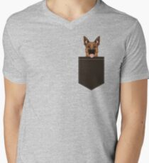 Skylar - German Shepherd gift ideas for dog person and dog people gifts Men's V-Neck T-Shirt