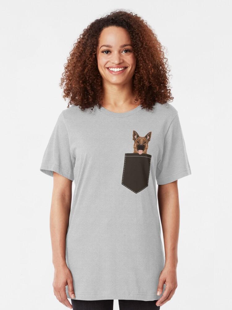 Alternative Ansicht von Skylar - Schäferhundgeschenkideen für Hundepersonen- und Hundeliebhabergeschenke Slim Fit T-Shirt