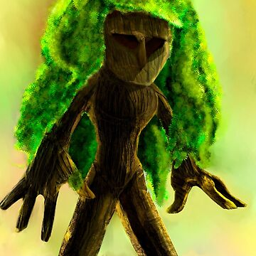 The Man of Wood. by faunomanchego