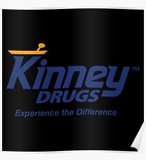 Kinney Drugs - Experience the Difference Poster