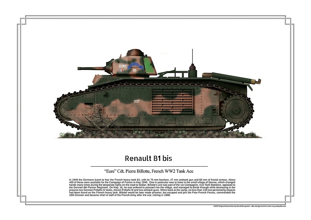 Renault B1 bis by TheCollectioner