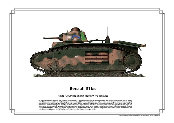 ww2 aces: Renault B1 Bis Eure